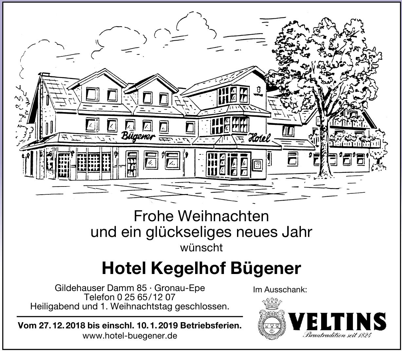 Hotel Kegelhof Bügener