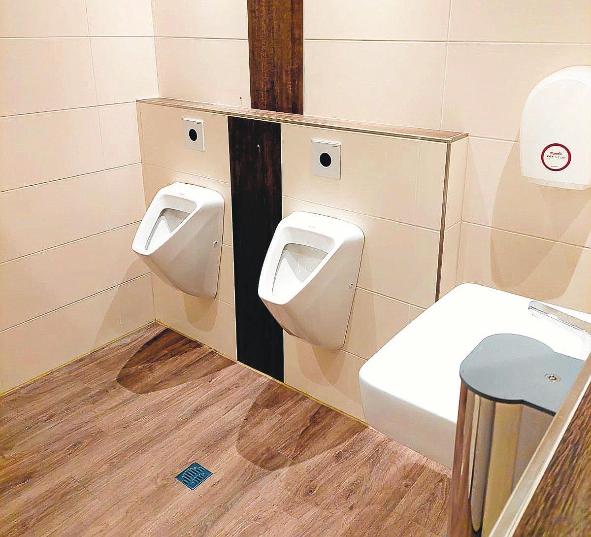 Alles neu: Die sanitären Anlagen wurden komplett modernisiert.