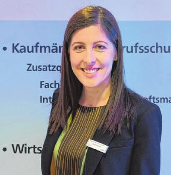 Claudia Bader, Projektleiterin des Berufsinformationstages an der Kaufmännischen Schule Künzelsau.Fotos: privat