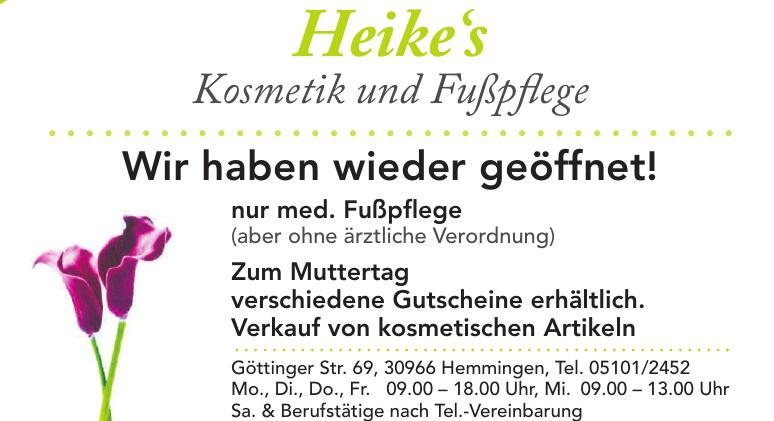 Heike's Kosmetik und Fußpflege
