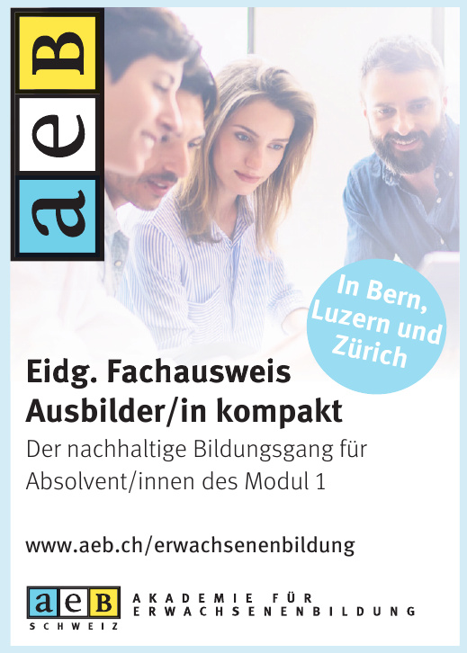 aeb Akademie für Erwachsenenbildung Schweiz