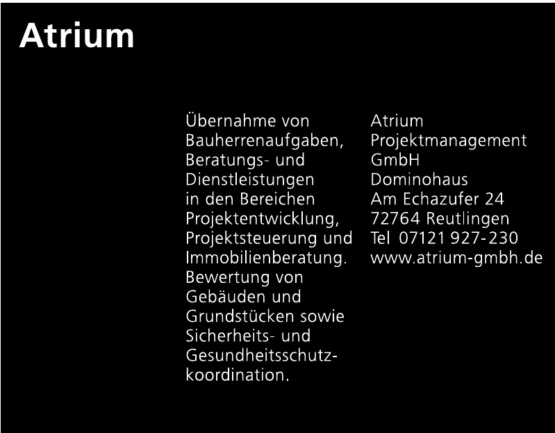Atrium Projektmanagement GmbH