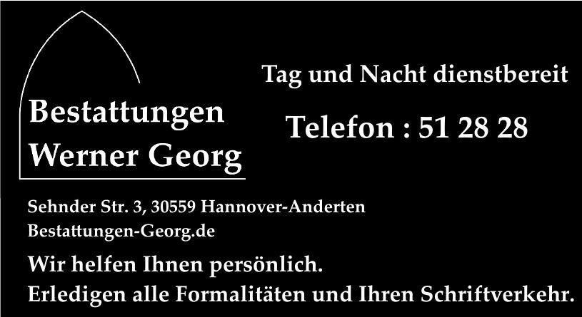 Bestattungen Werner Georg