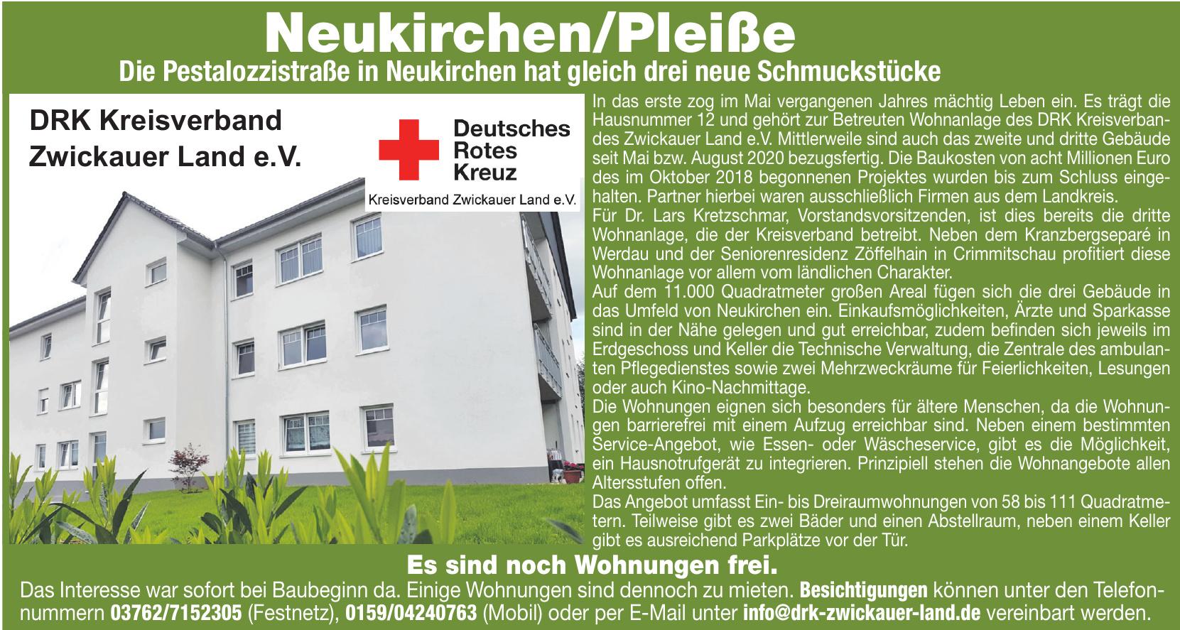 DRK Kreisverband Zwickauer Land e.V.