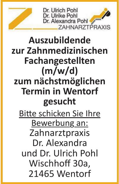 Zahnarztpraxis Dr. Alexandra und Dr. Ulrich Pohl