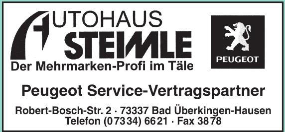 Autohaus Steimle e. K.