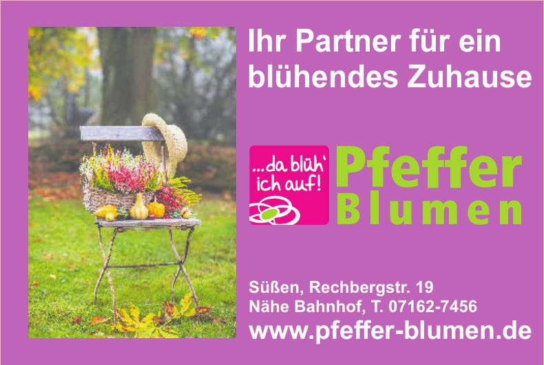 Pfeffer Blumen
