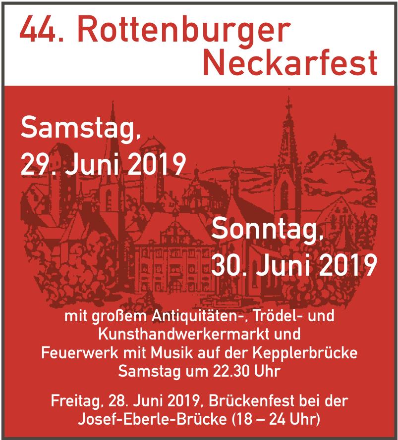 44. Rottenburger Neckarfest