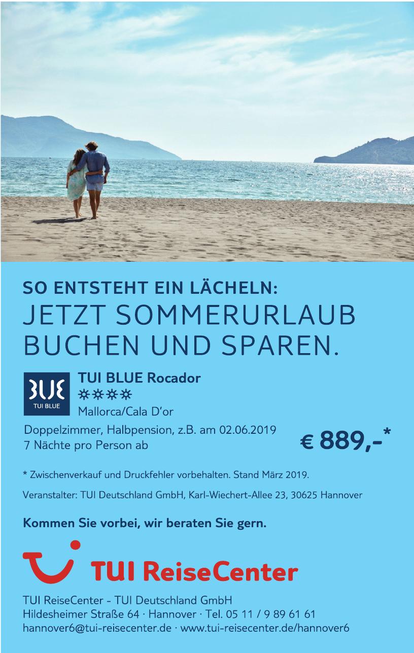 TUI ReiseCenter, TUI Deutschland GmbH