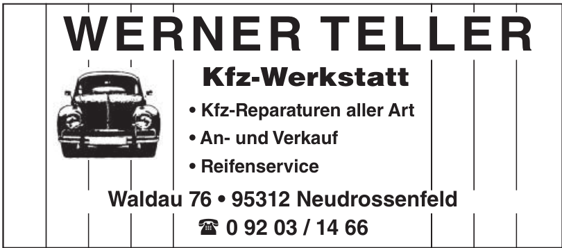 Werner Teller Kfz-Werkstatt