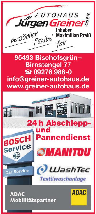 Autohaus Jürgen Greiner GmbH