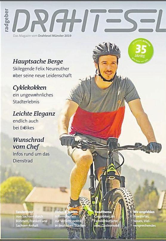 Der Drahtesel-Radgeber für das Jahr 2019.