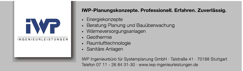 IWP Ingenieurbüro für Systemplanung GmbH
