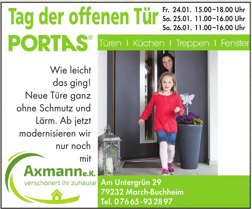 Portas - Axmann e.K.