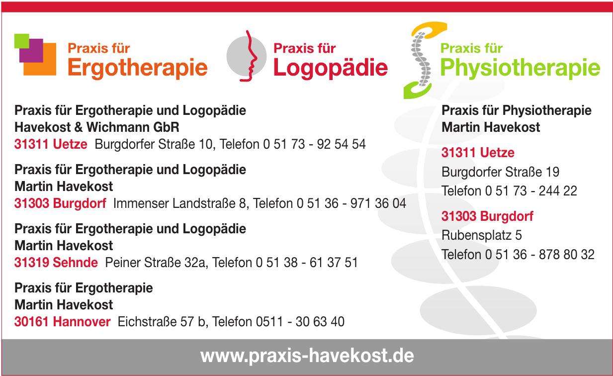 Ergotherapie & Logopädie Burgdorf Martin Havekost
