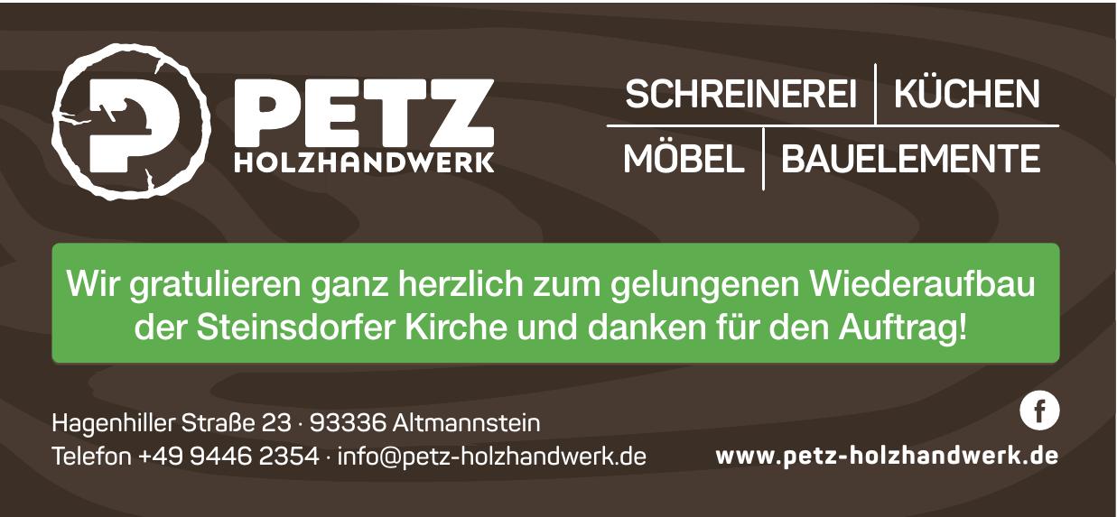 Petz Holzhandwerk