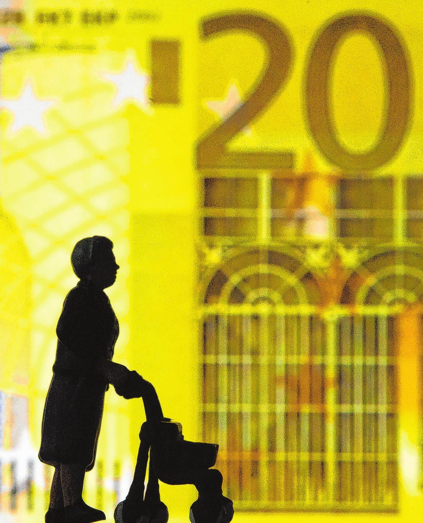 Altersvorsorge wird steuerlich gefördert: Bestimmte Zahlungen senken als Sonderausgaben das zu versteuernde Einkommen.Foto: Andrea Warnecke/dpa-mag