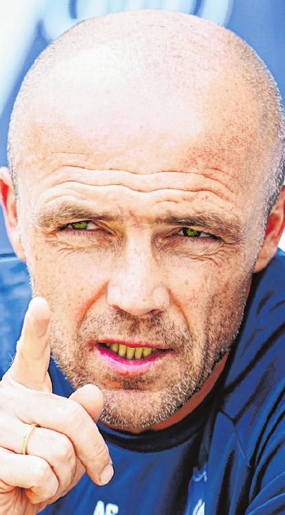 Hoffenheims neuer Trainer: Alfred Schreuder. FOTO: UWE ANSPACH, DPA
