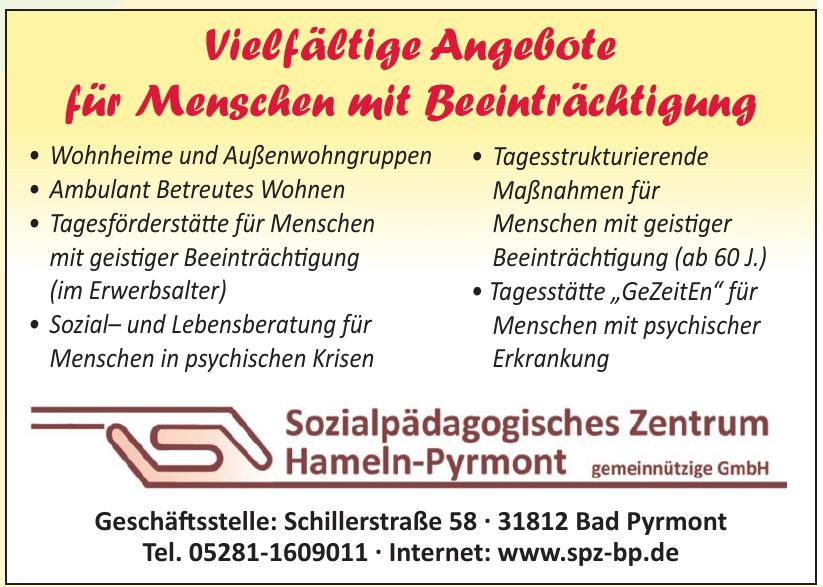 Sozialpädagogisches Zentrum Hameln-Pyrmont gemeinnützige GmbH