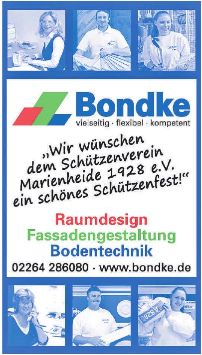 Bondke