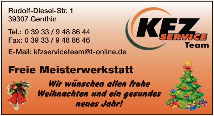 KFZ Service Team