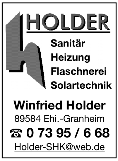 Winfried Holder