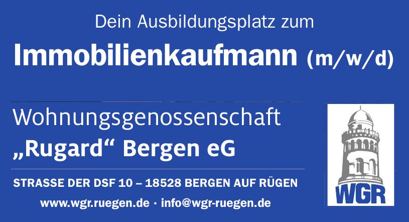 WGR Wohnungsgenossenschaft Rugard Bergen eG