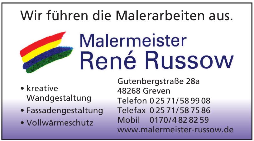 Malermeister René Russow