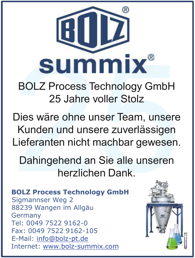 BOLZ Process Technology GmbH