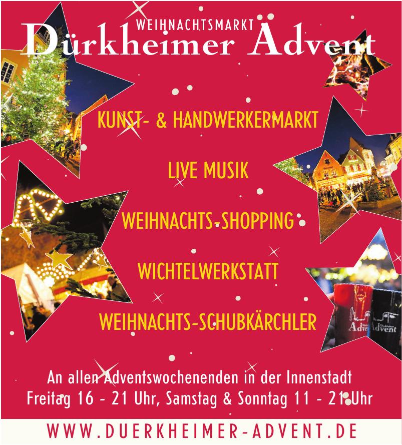 Weihnachtsmarkt Durkheimer Advent