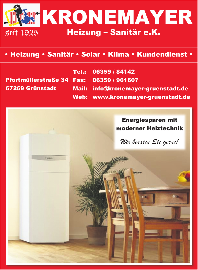 Kronemayer Heizung-Sanitär e. K.