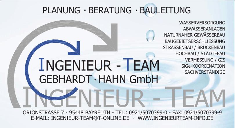 Ingenieur-Team Gebhardt Hahn GmbH