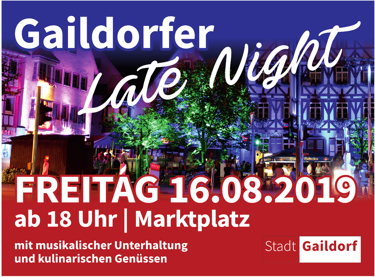 Gaildorfer Late Night