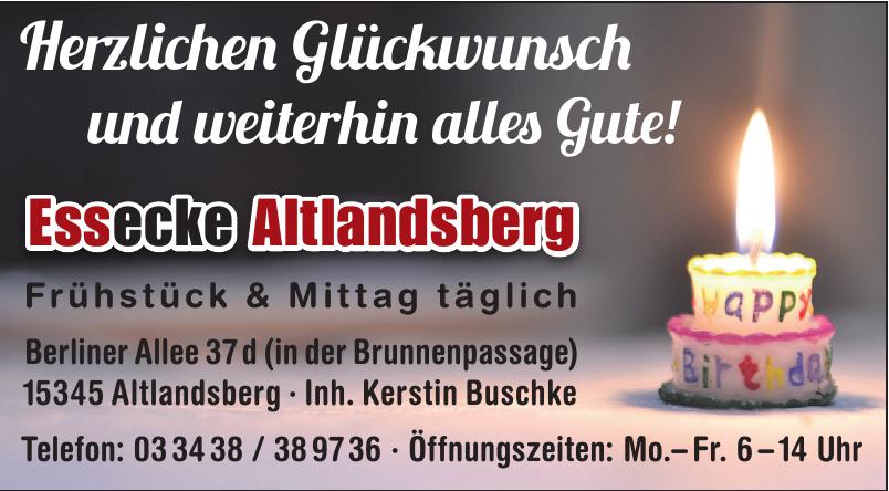 Essecke Altlandsberg