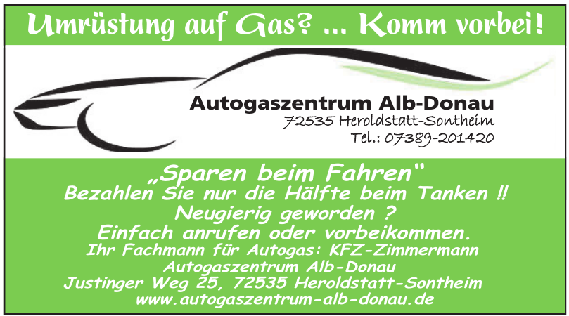 Autogaszentrum Alb-Donau