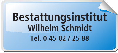 Bestattunsinstitut Wilhelm Schmidt