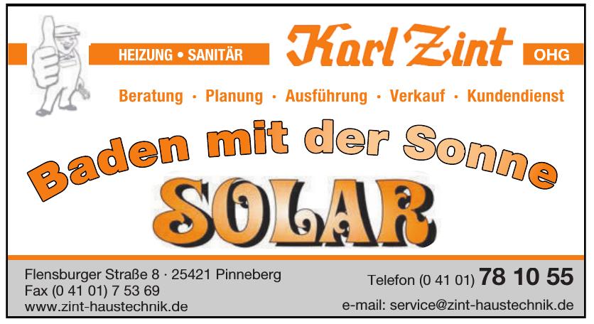 Heizung, Sanitär Karl Zint OHG