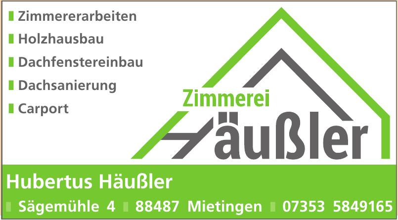 Hubertus Häußler