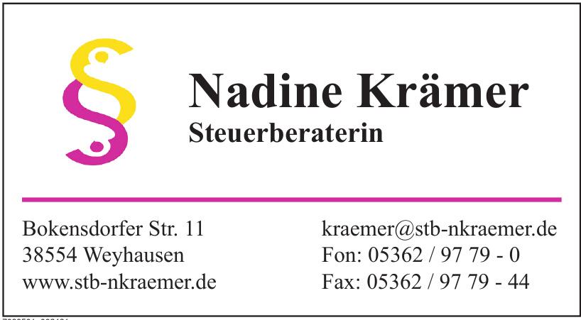 Nadine Krämer Steuerberaterin