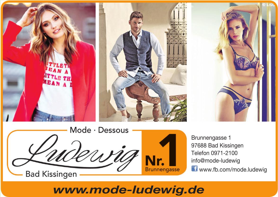 Mode-Dessous Ludewig