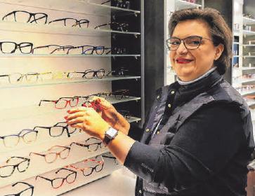 Angelika Bopp-Seitzer von Stade-Optik.