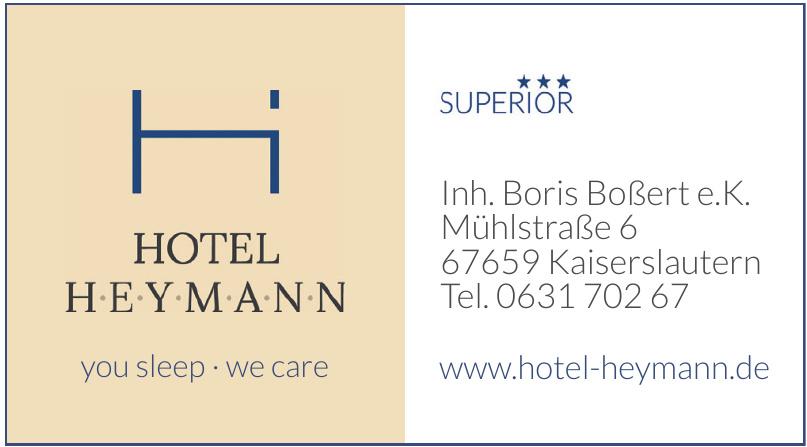 Hotel Heymann
