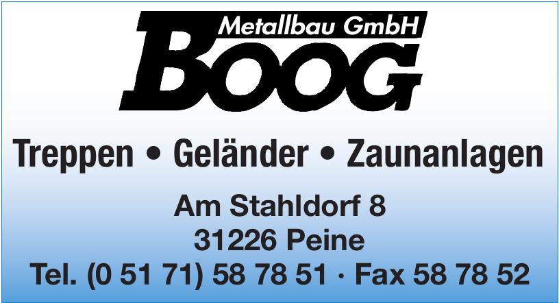 Boog Metallbau GmbH
