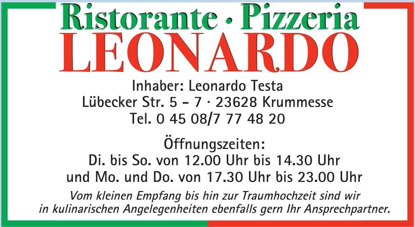 Ristorante · Pizzeria Leonardo