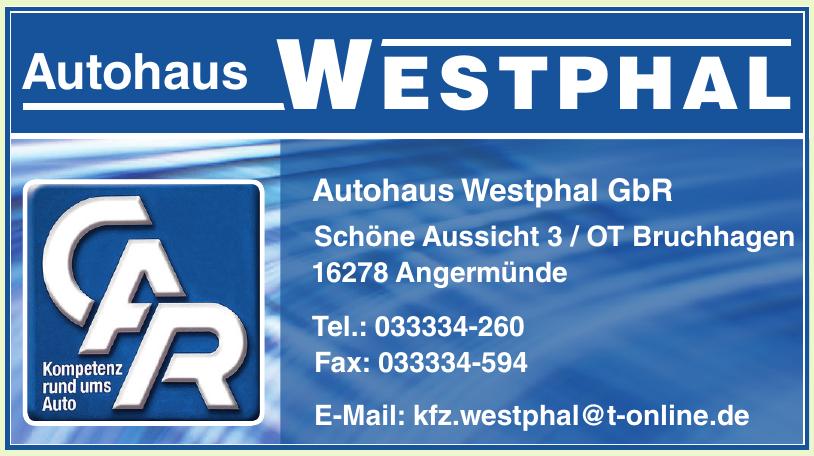 Autohaus Westphal GbR