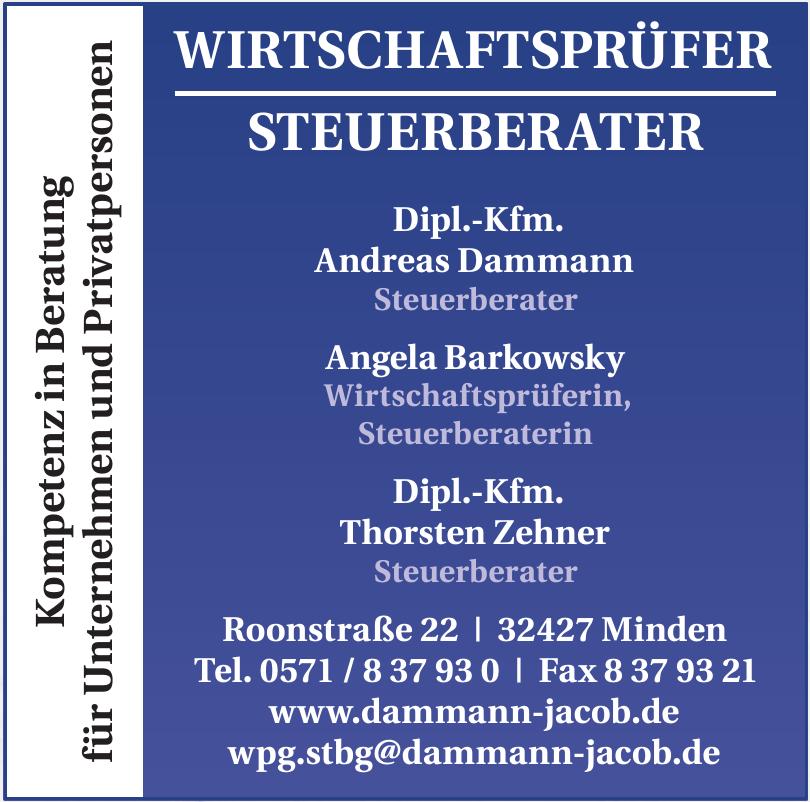 Dipl.-Kfm. Andreas Dammann, Angela Barkowsky, Dipl.-Kfm. Thorsten Zehner