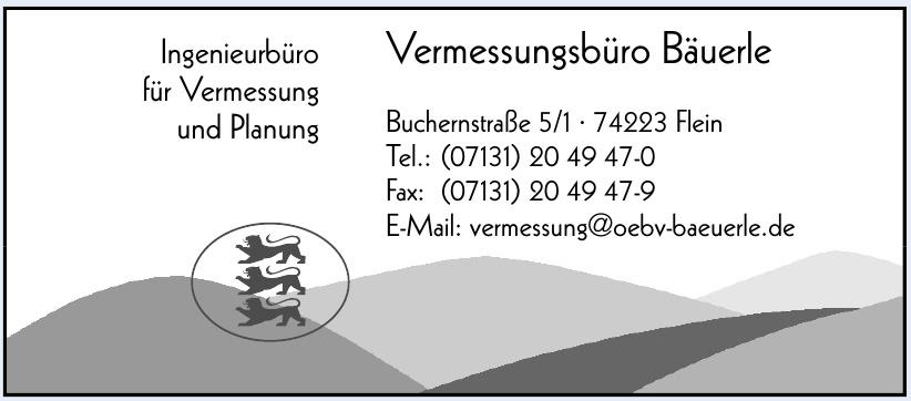 Vermessungsbüro Bäuerle