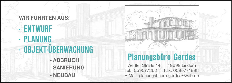 Planungsbüro Gerdes