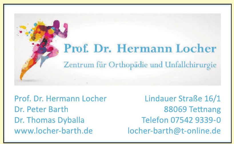 Prof. Dr. Hermann Locher