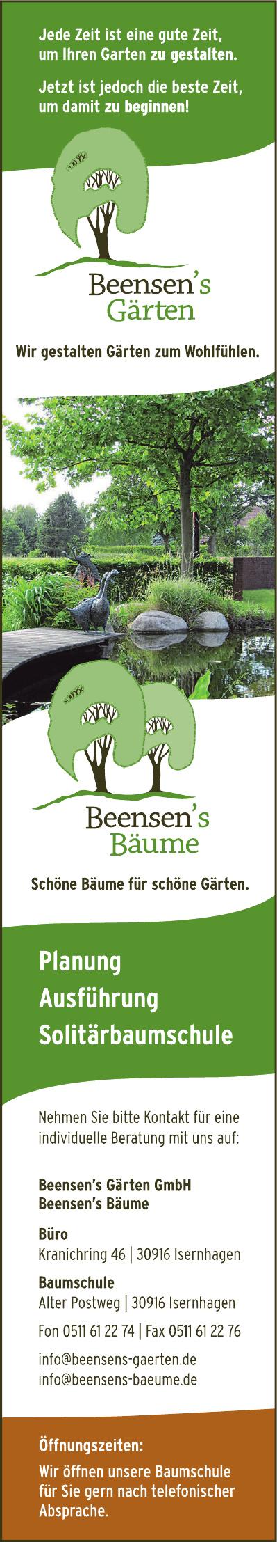 Beensen's Gärten GmbH